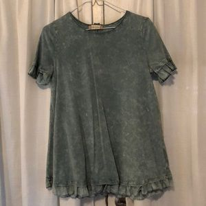 Altar'd State Ruffle Top